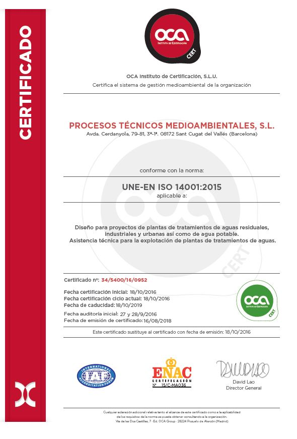 UNE.EN ISO 14001.2015