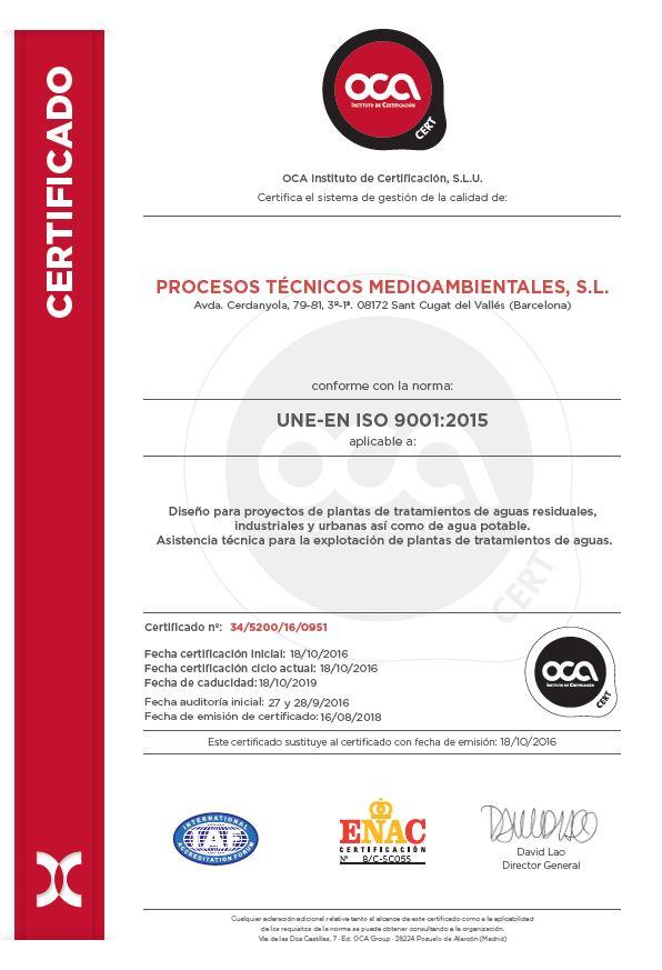 UNE.EN ISO 9001.2015